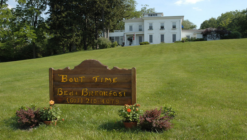 Bout time bed breakfast watkins glen lodging for Cabin rentals vicino a watkins glen ny