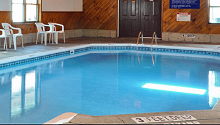Villager Motel indoor pool