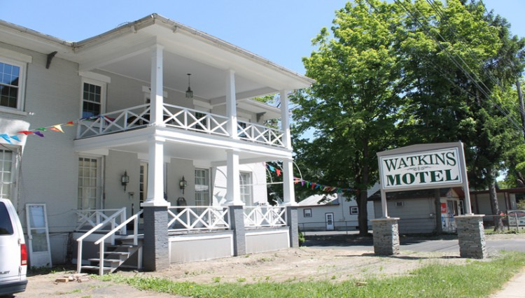 Watkins Motel exterior
