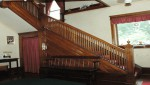 Glen Manor staircase at Villager in downtown Watkins Glen