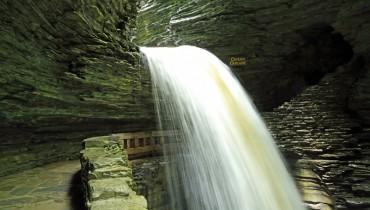 Watkins Glen State Park waterfall
