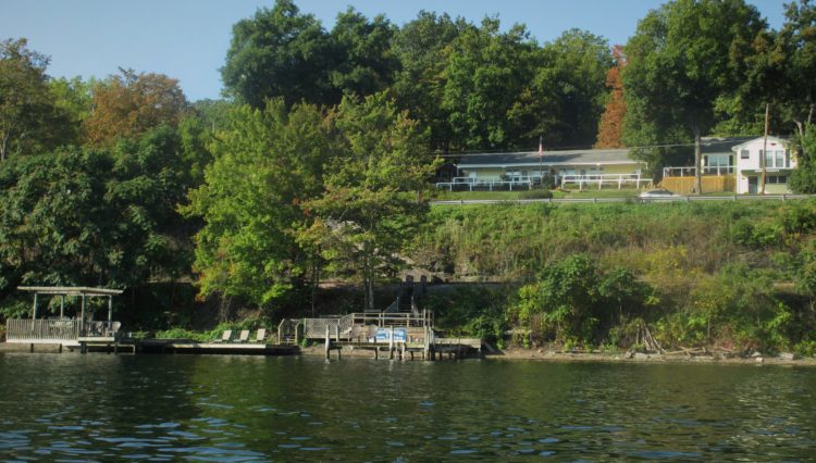 Admiral Peabody dock on Seneca Lake