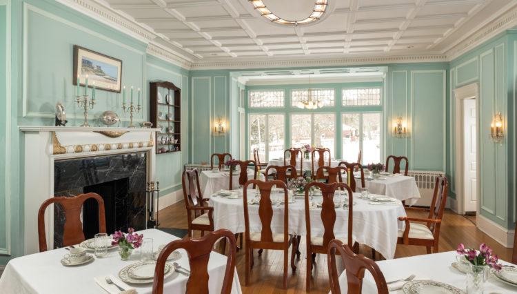 Idlewild Inn - Interiors - Dining room - January 2018 (1)